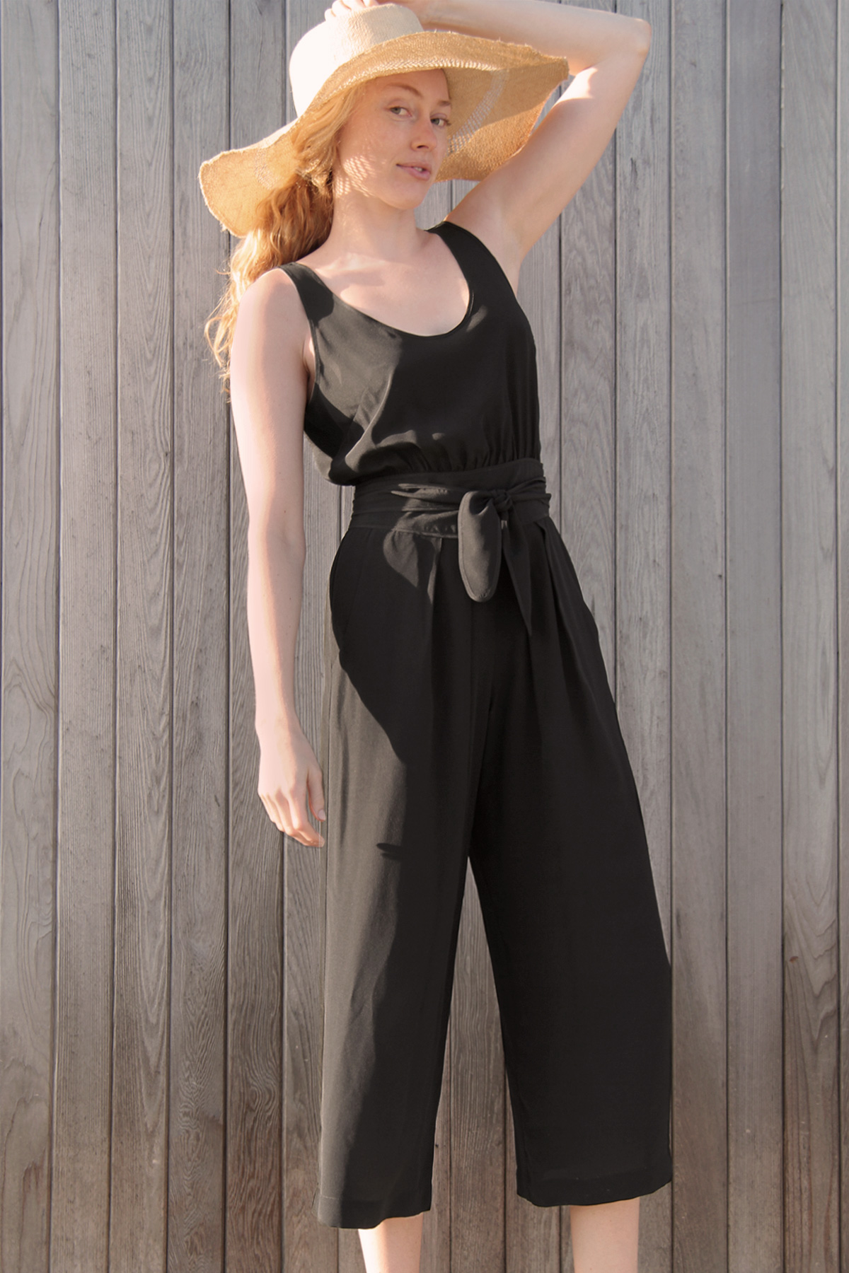 LAUREL SILK JUMPSUIT