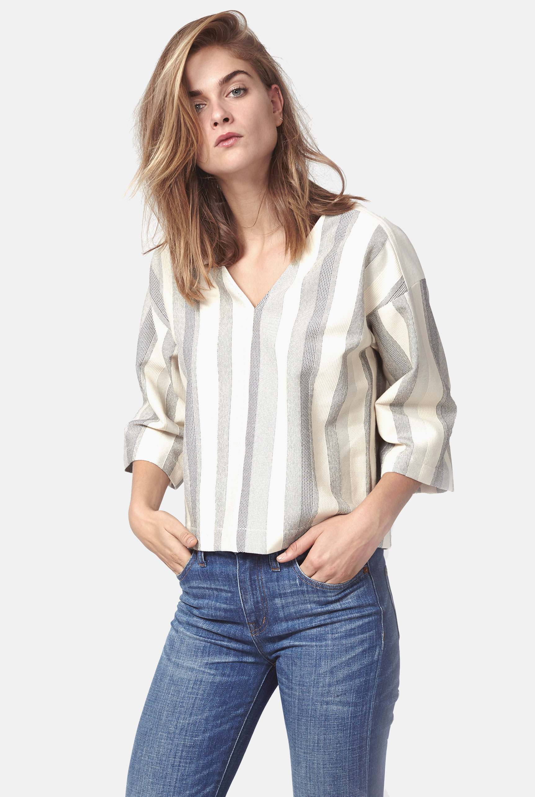 ANTELOPE stripe top