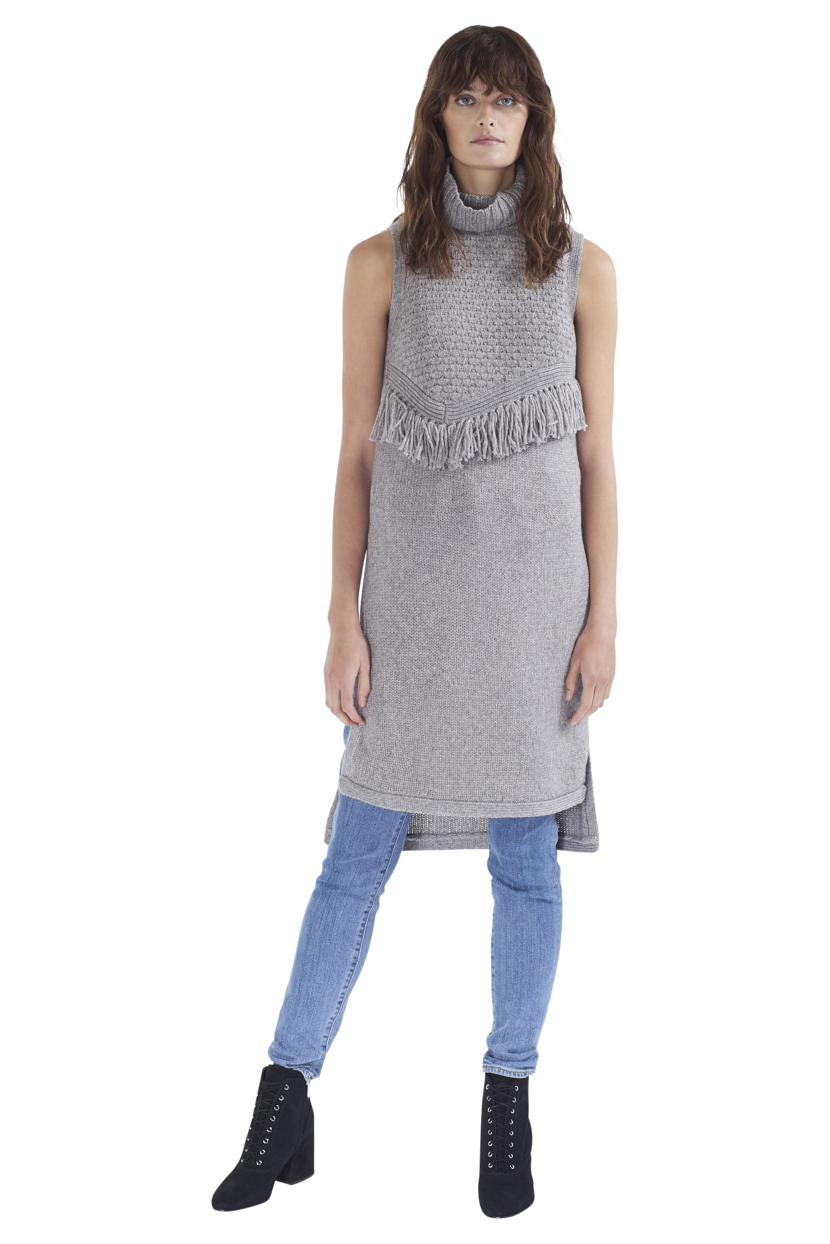 ALPINA grey knit tunic