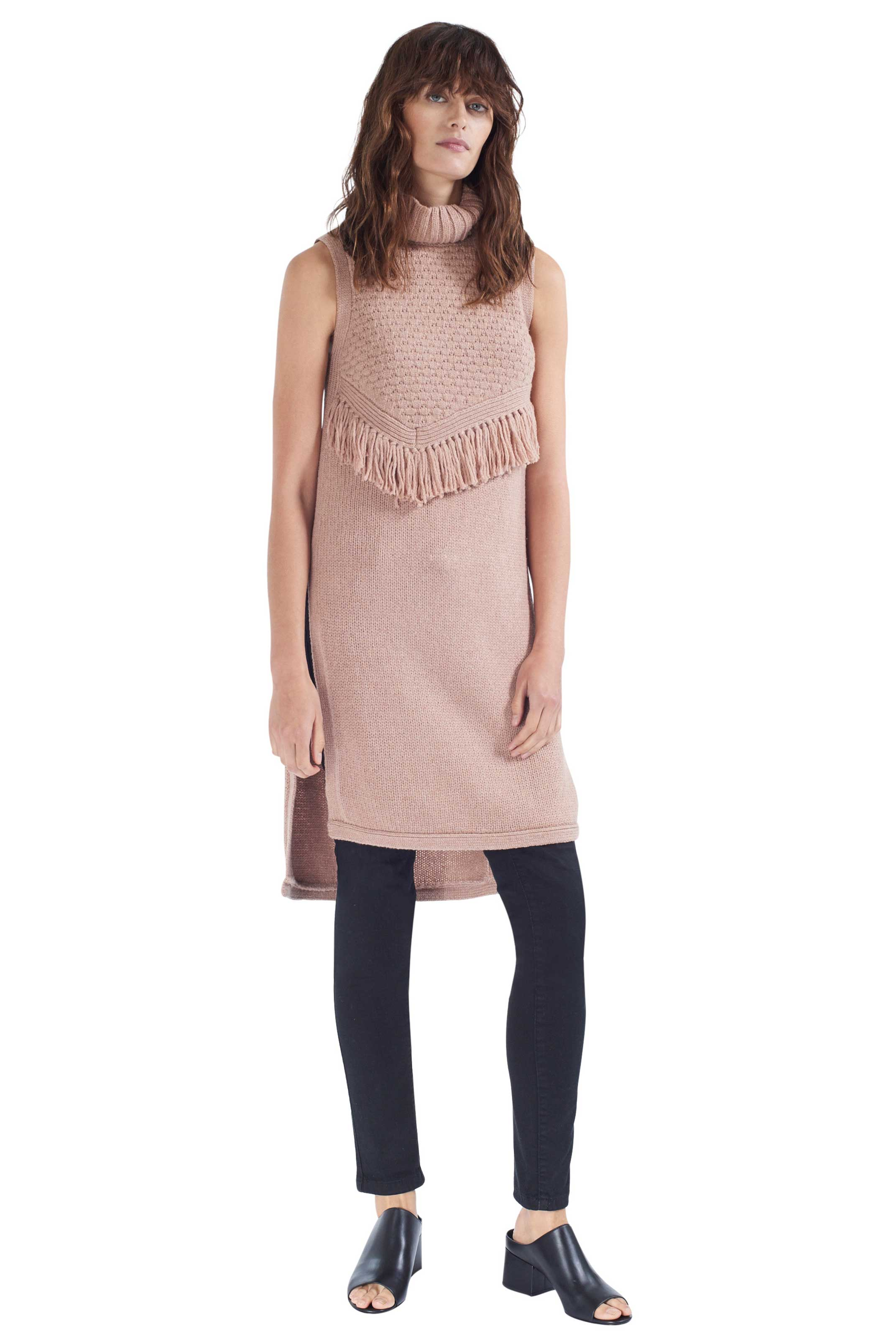 ALPINA terra knit tunic